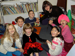 Hebrew School fun at Chabad of Augusta!